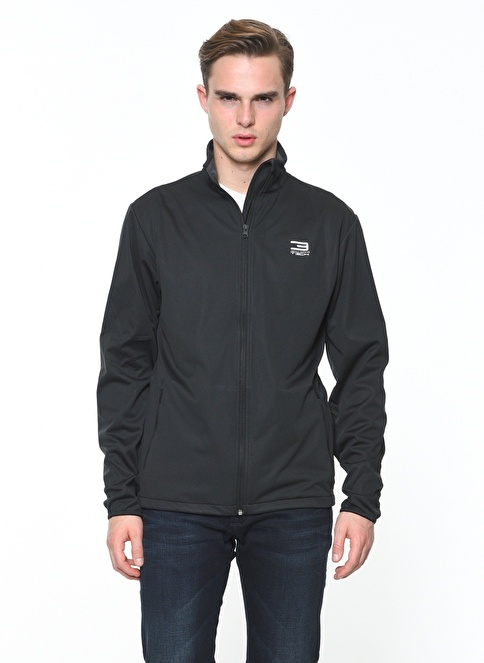 Jack & Jones Softshell Mont Siyah